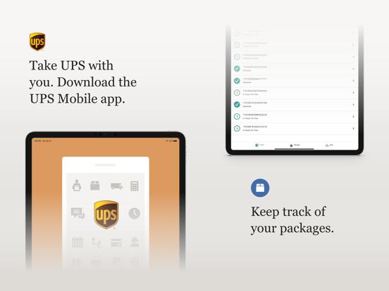 UPS Mobile screenshot