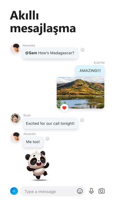 iPhone için Skype iphone ekran görüntüleri