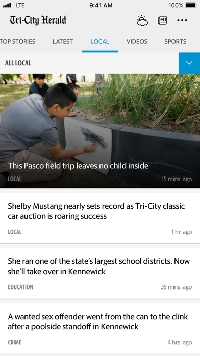 Tri-City Herald News screenshot three
