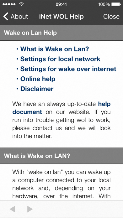 点击获取iNet WOL - Wake on Lan