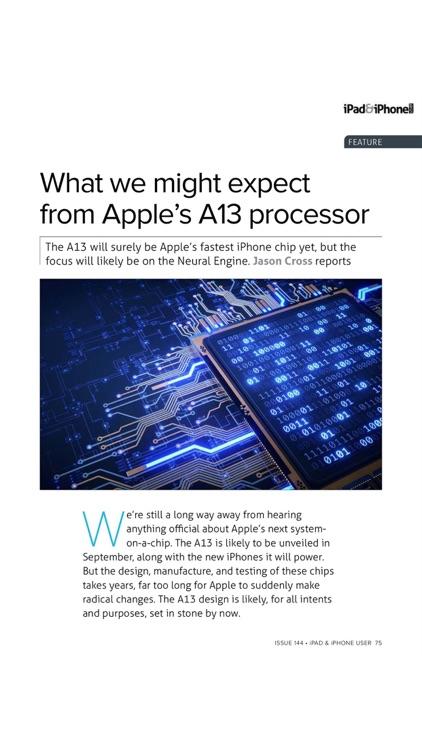 iPad & iPhone User magazine. screenshot-9