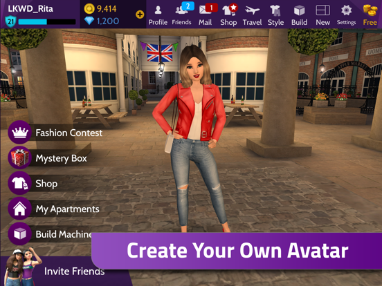 Avakin Life – 3D Virtual World-ipad-1