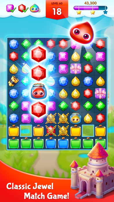 Jewel Legend - Match 3 Games free Coins and Lives hack