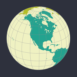 Ícone do app World Factbook Visual Edition