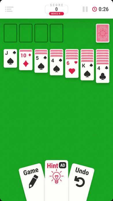Solitaire Infinite - Card Game screenshot 1
