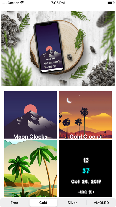 ClockDisplay - Time Wallpaper screenshot 4
