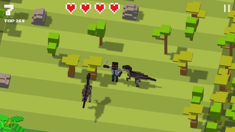 Jurassic Hopper: Crossy Dino screenshot-4