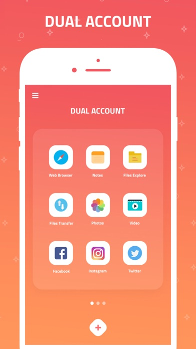 Dual Accounts Multi Space Appのおすすめ画像1