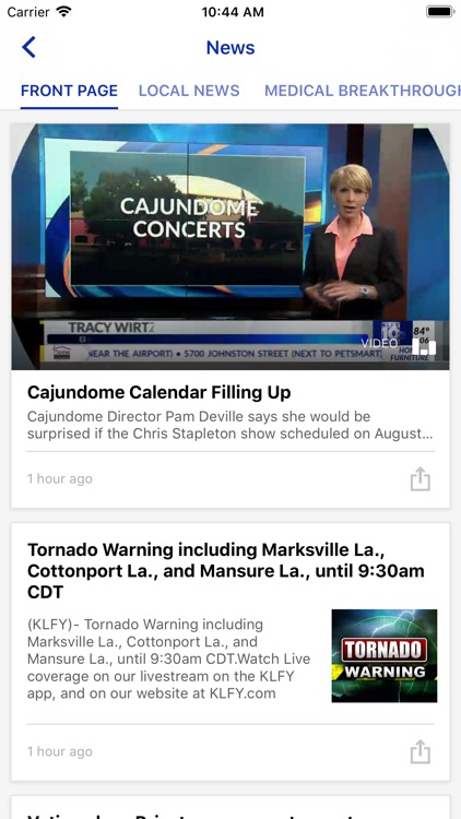 KLFY News 10 screenshot-1