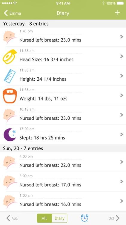 Baby Breastfeeding Tracker screenshot-3