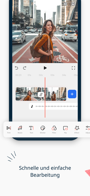 ‎FilmoraGo-Video Editor & Maker Screenshot