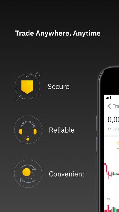 Screenshot #3 pour Binance - Crypto Trading App