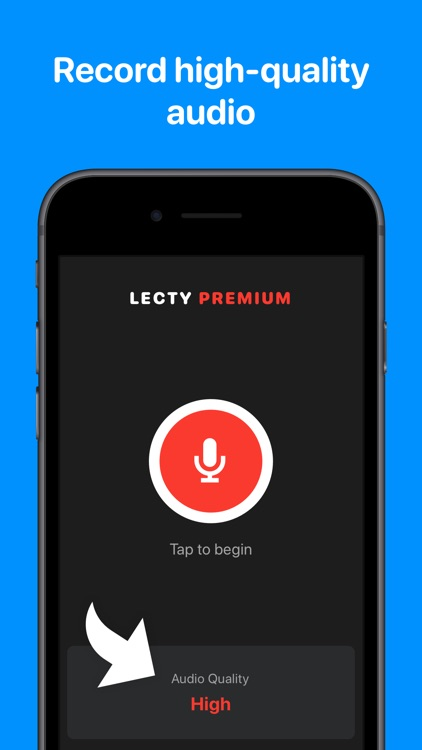 Lecty – Audio Recorder & Notes
