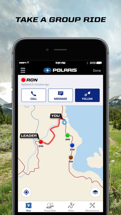 Screenshot for Polaris Ride Command in United States App Store