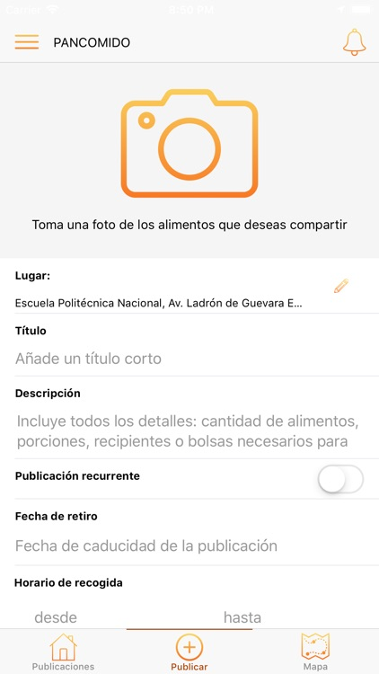 PanComido App screenshot-3
