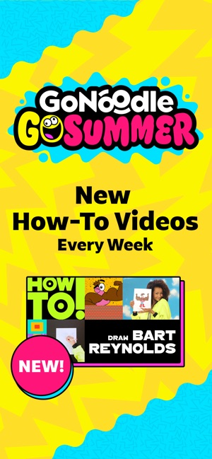 GoNoodle - Kid Movement Videos on the App Store
