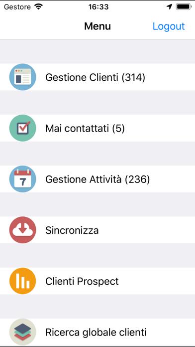 Screenshot of xGestMobile2