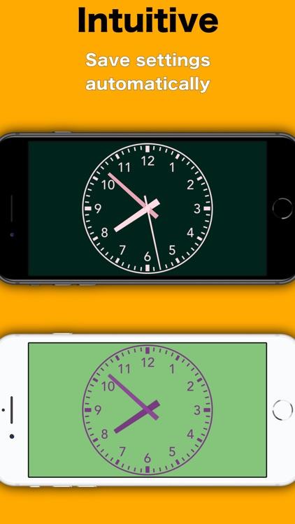 Simply Clock - Analog screenshot-3