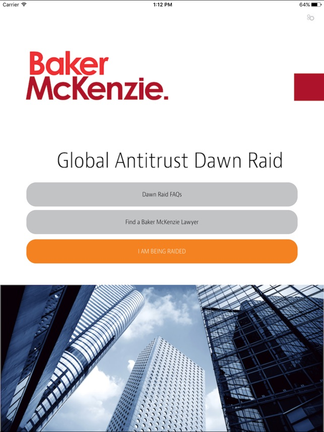 Baker McKenzie Dawn Raid on the App Store