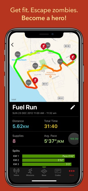 31c3455ab6 Zombies, Run! on the App Store