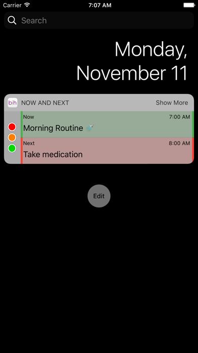 Brain in Hand Mobile screenshot one