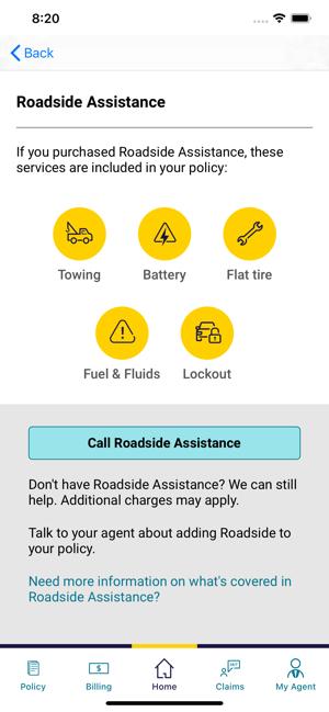 Safeco Roadside Assistance >> Safeco Mobile En App Store
