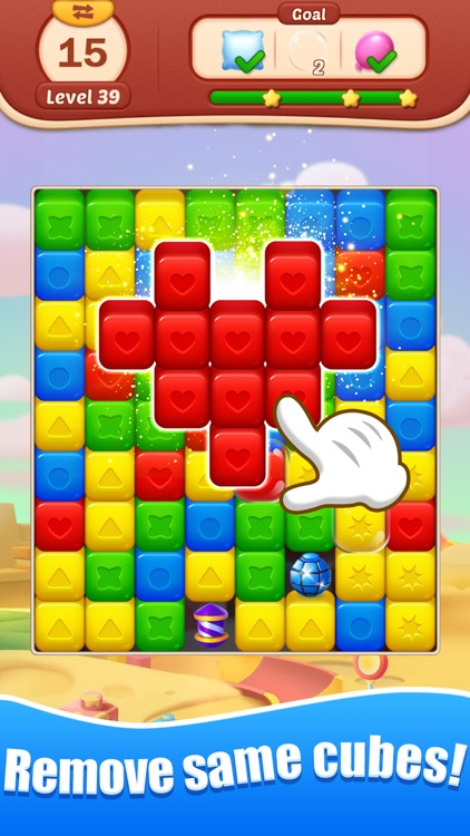 Toy Bomb: Pop Cube Blast Mania screenshot-1