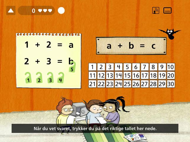 Matemagisk ALGEBRA Screenshot