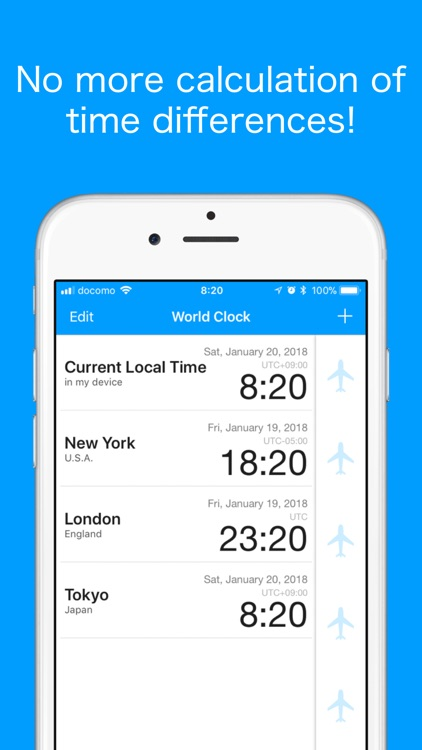 World Clock -Time Converter- screenshot-0