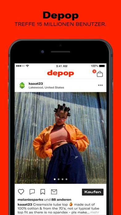 Herunterladen Depop - Streetwear und Vintage für Pc