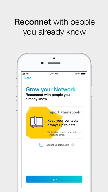 XapCard Business Networking screenshot-7