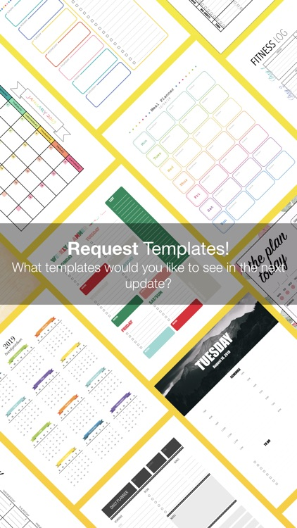 Planner Templates by Nobody screenshot-4