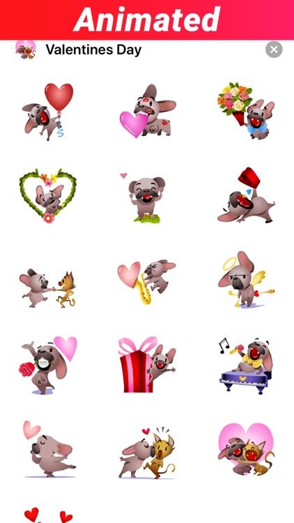 Valentines Day Stickers GIF IM