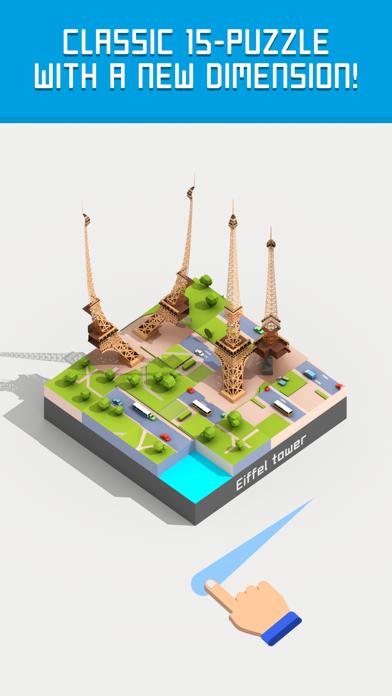 Fifteen: 3D & AR 15 puzzle screenshot 1