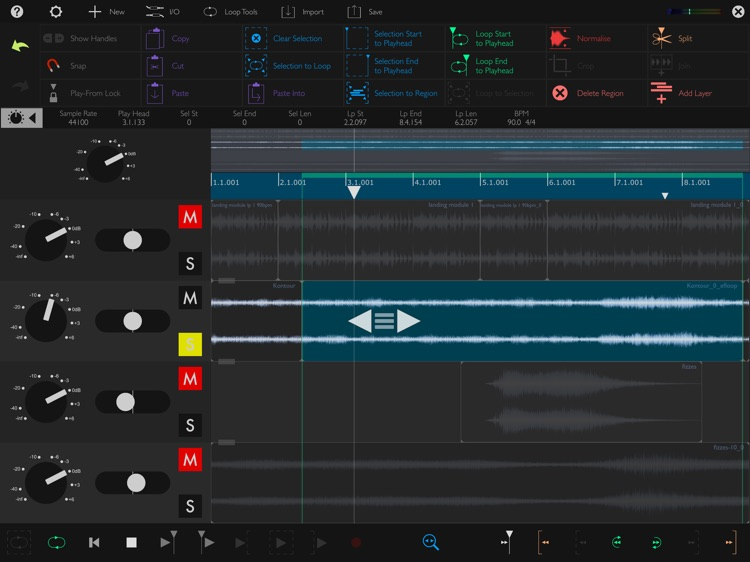 Auditor - Audio Editor screenshot-1