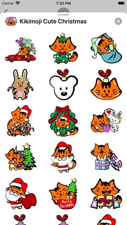 Kikimoji Cute Christmas