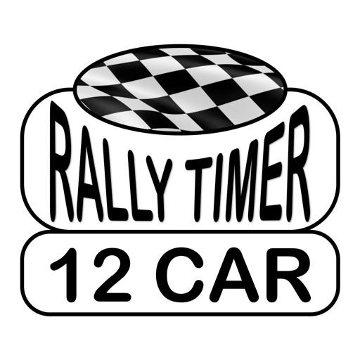 12 Car Rally Timer icon