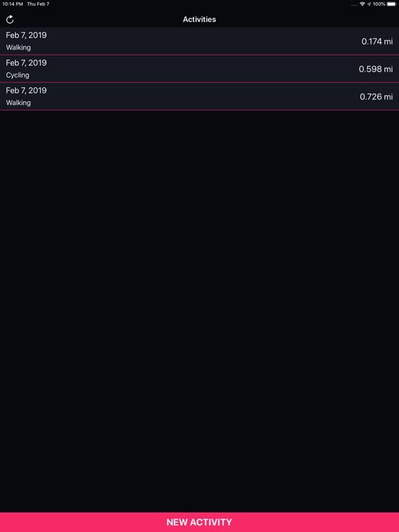 Running Tracker screenshot 5