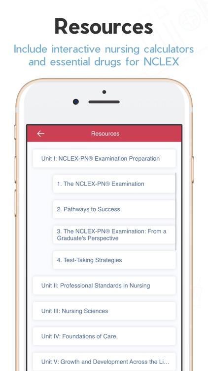Saunders Comp Review NCLEX PN screenshot-6