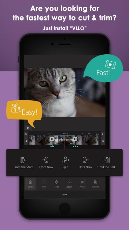 VLLO (aka Vimo) - Video editor screenshot-0