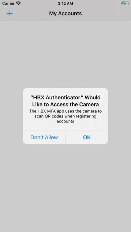HBX Authenticator