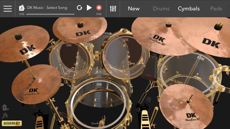 DrumKnee Drums 3D - Drum pad screenshot-3