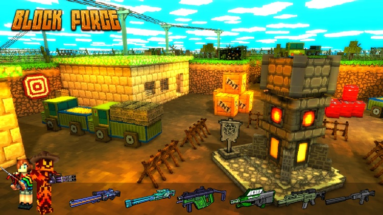 Block Force - 3D FPS Gun Shoot screenshot-0