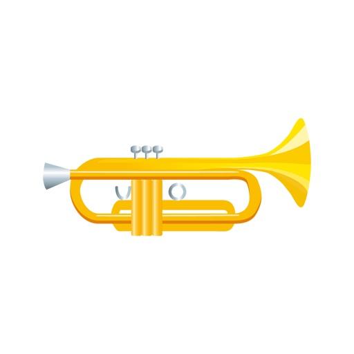 Sticker musical instrument