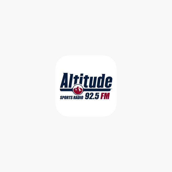 Altitude Sports Radio 92 5 Fm On The App Store