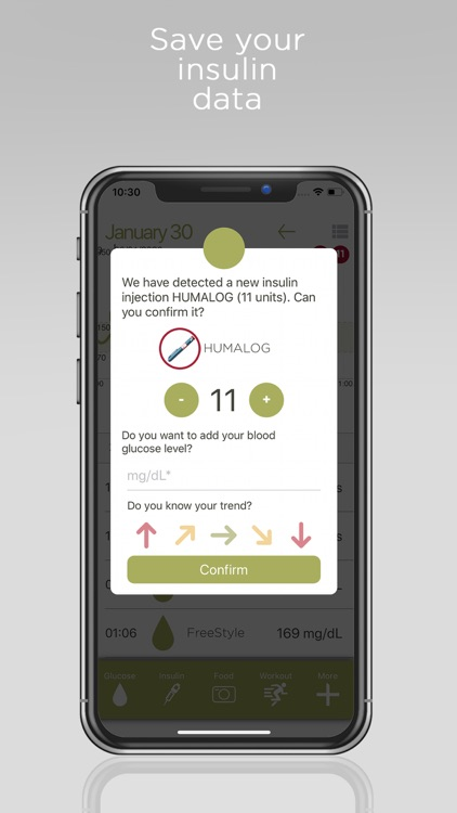 Diabetes Control - Insulclock screenshot-5