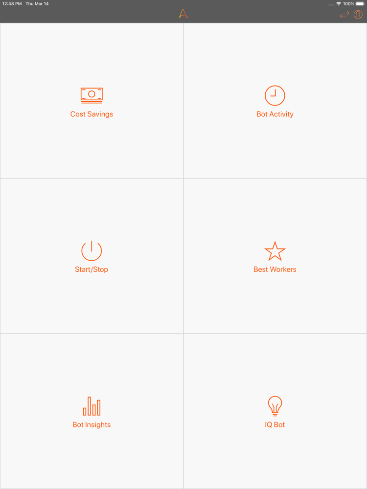Automation Anywhere Mobile App for iPhone - Free Download Automation