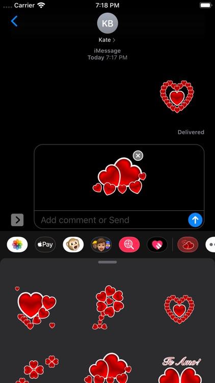 Te Amo Stickers screenshot-8