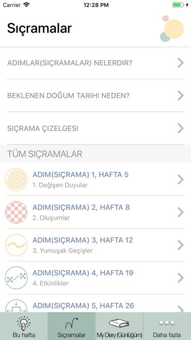 Harika Haftalar iphone ekran görüntüleri