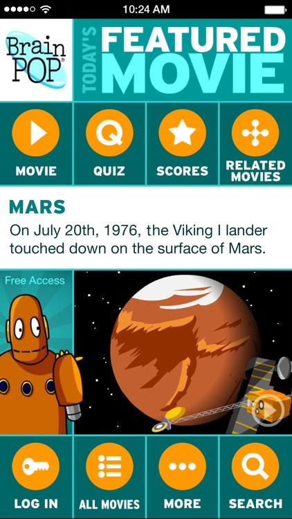 BrainPOP Featured Movie screenshot-0